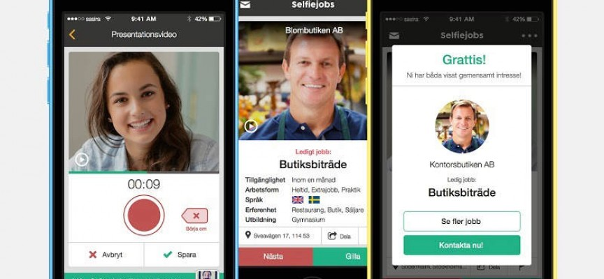"""Nueva App de búsqueda de empleo. Bolsa de trabajo con un """"me gusta"""""""