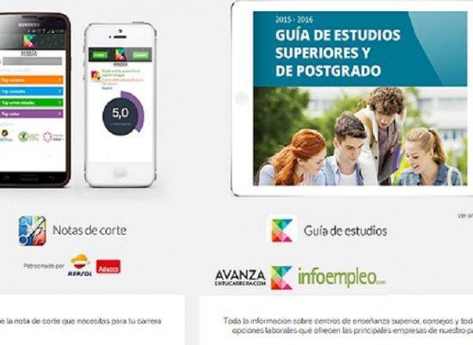 App gratuita para elegir Universidad. Guía de Estudios Superiores y de Postgrado