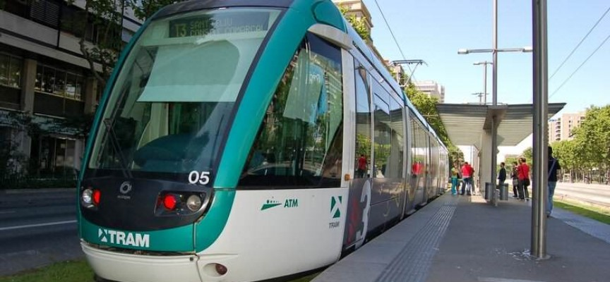 TRAM, empresa de Transportes de Barcelona. Para enviar currículum