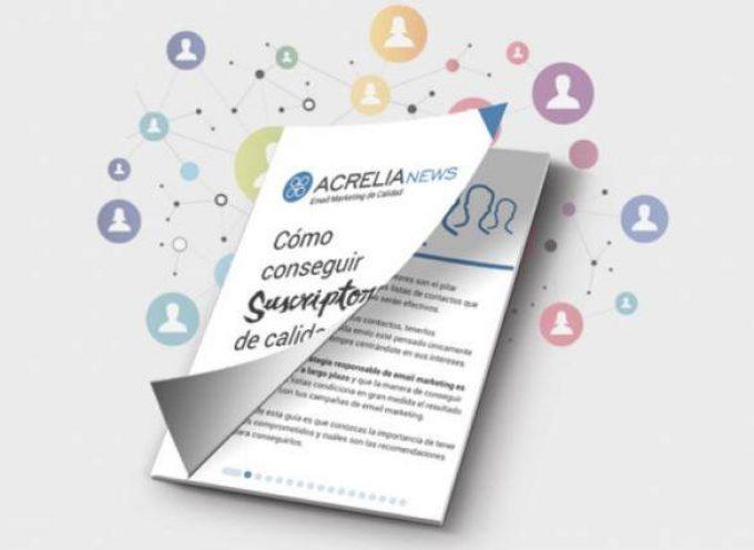 Cómo conseguir suscriptores de calidad para tus listas, nuevo PDF gratuito