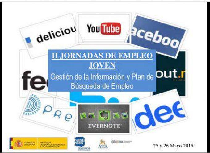 """II Jornadas de Empleo Joven: """"Hazte visible a las empresas"""". Recursos Orientación 2.0"""