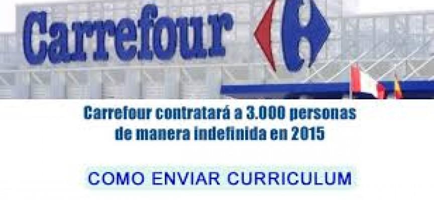 Trabaja en Carrefour. Envía tu currículum