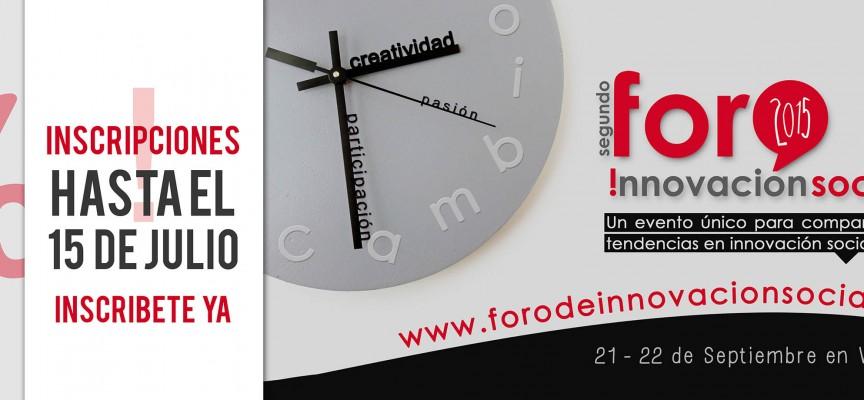 II Foro de Innovación Social – 21 y 22 de Septiembre en Valencia