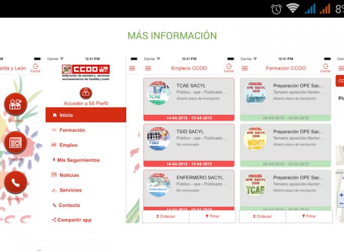 Una App gratuita que informa a los sanitarios de ofertas de empleo y formación.