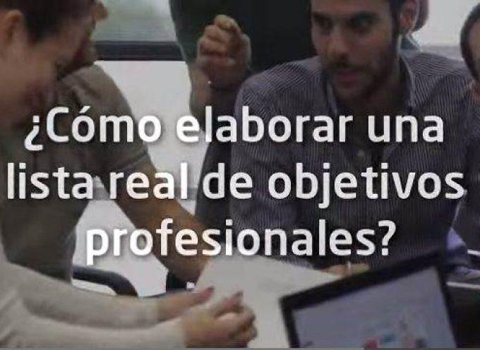 ¿Cómo elaborar una lista real de objetivos profesionales?