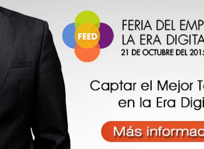 Feria del Empleo en la Era Digital 2015. Mayor encuentro sobre empleo digital. 21 octubre Madrid