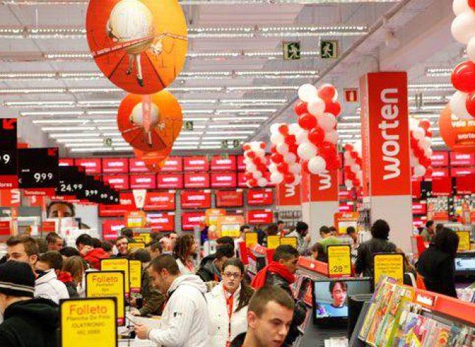 Worten abrirá 50 tiendas más en España en cinco años con una inversión aproximada de 60 millones de euros hasta 2019