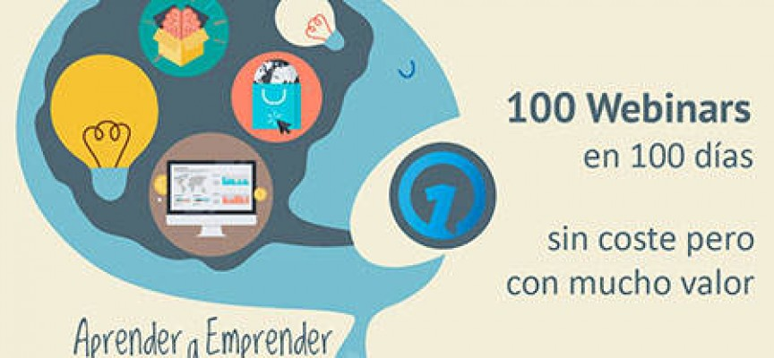 100 webinars gratuitos sobre redes sociales, marketing, SEO…