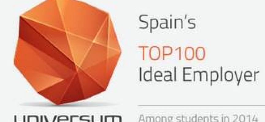 Ranking de las mejores empresas para trabajar en España por sectores.