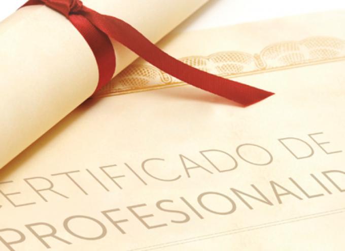 Certificados de profesionalidad. Lo que necesitas saber