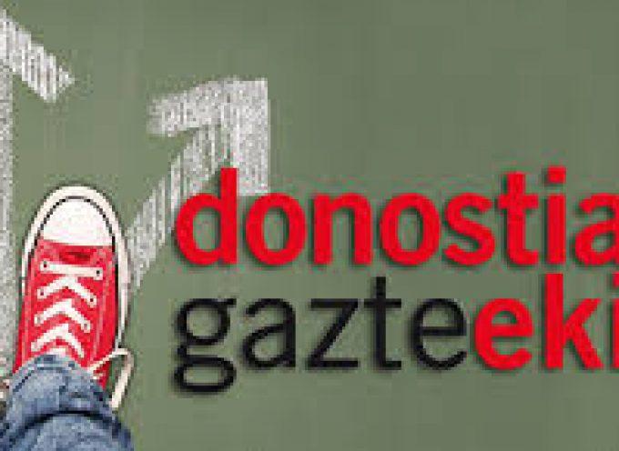Programas de Inserción laboral para jóvenes de Donostia. 1.150 nuevos puestos de trabajo