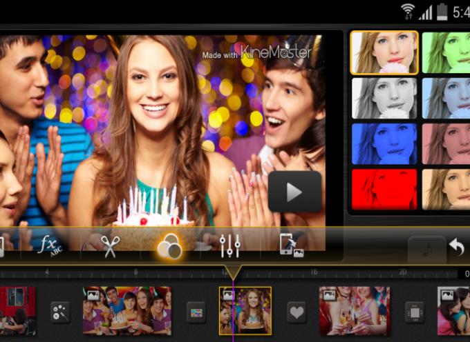 Cuatro aplicaciones para editar vídeo desde el móvil