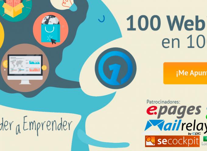 "Apúntate a ""100 cursos gratuitos en 100 días"".  Diferentes temáticas"