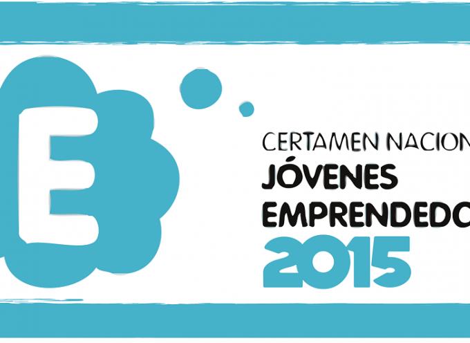 Certamen Nacional de Jóvenes Emprendedores 2015. Plazo 14/09/2015