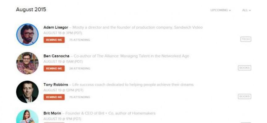Product Hunt presenta LIVE, para chatear con fundadores y responsables por Startups