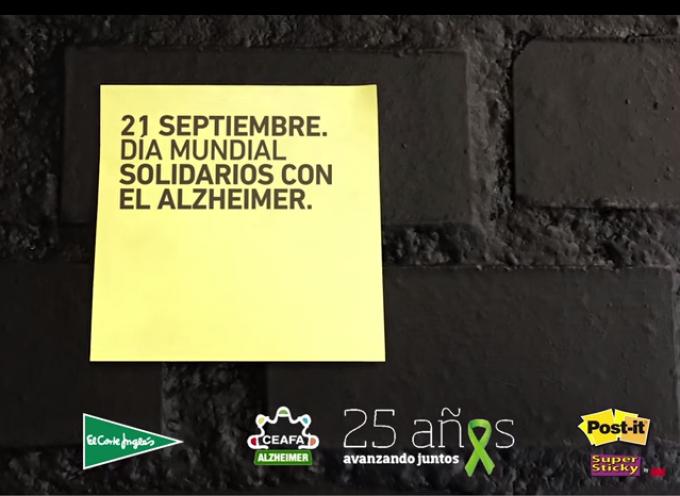 21 de Septiembre #DíaMundialAlzheimer #Hazqueestegestosepegue