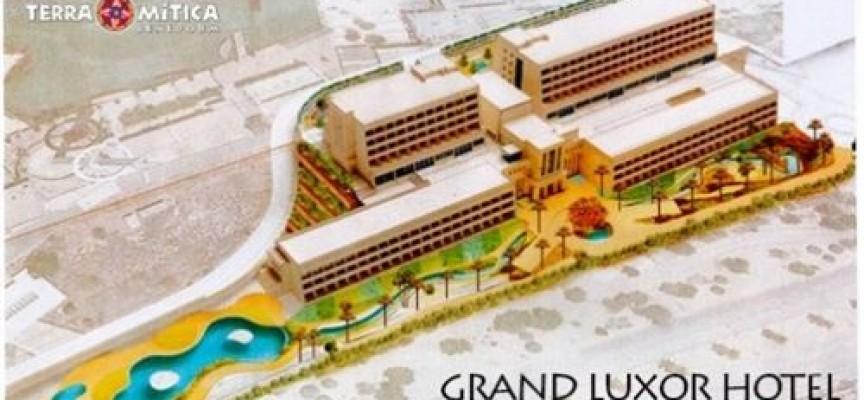 El Grand Luxor Hotel de Terra Mítica abrirá en 2016.