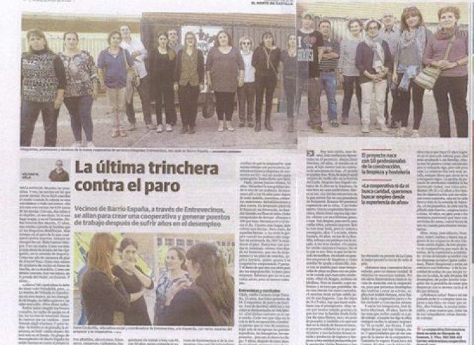 Crean en Valladolid una cooperativa de parados mayores de 40 años