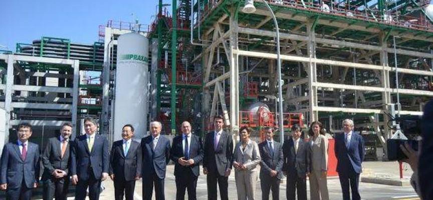 La nueva planta de lubricantes de ILBOC genera 80 empleos.