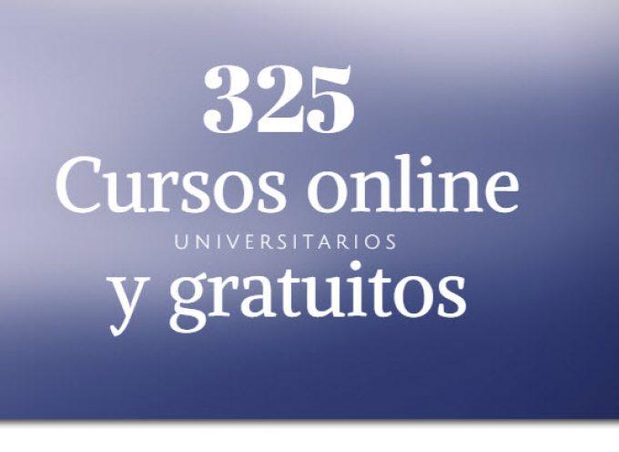 325 cursos universitarios, online y gratuitos que inician en octubre