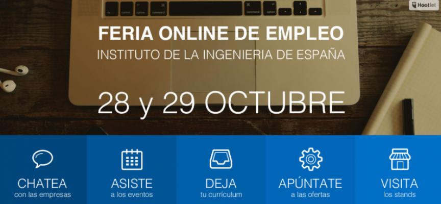V Feria Online de Empleo para Ingenieros. Inscripción. #Empleo #RRHH 28-29/10/2015
