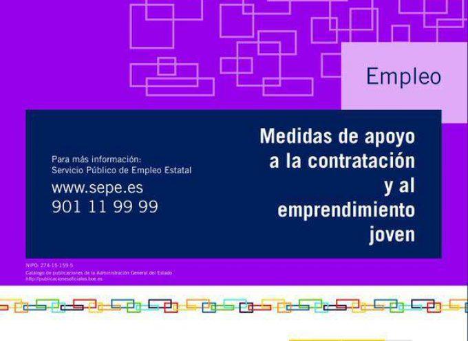 Medidas de Empleo Joven. (Contratación y emprendimiento)