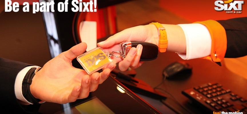 Sixt lanza en las redes sociales cuatro anuncios para ofrecer trabajo