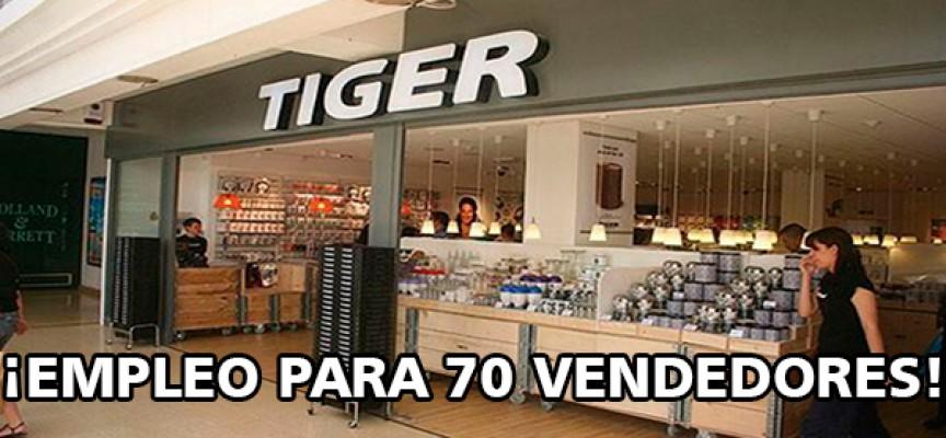 Se necesitan 70 dependientes/as en tiendas TIGER – Andalucía