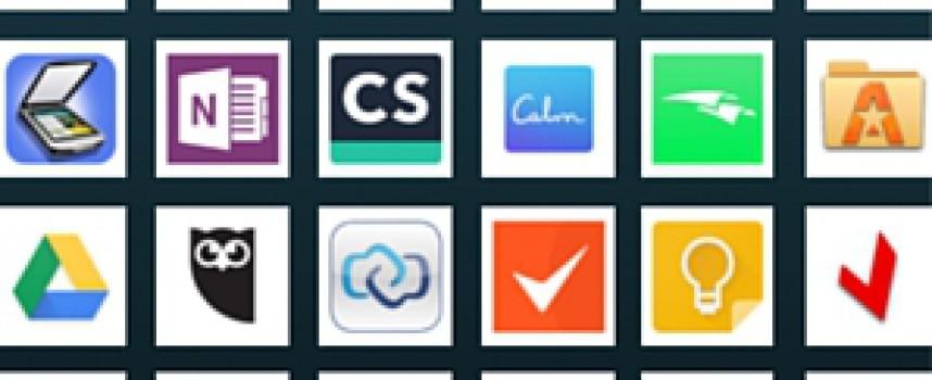 50 apps que ayudan a mejorar tu productividad