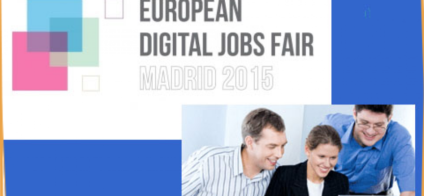 FERIA EUROPEA DE EMPLEO DIGITAL. Madrid 20/11/2015