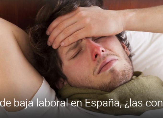 Causas de baja laboral en España, ¿las conoces?