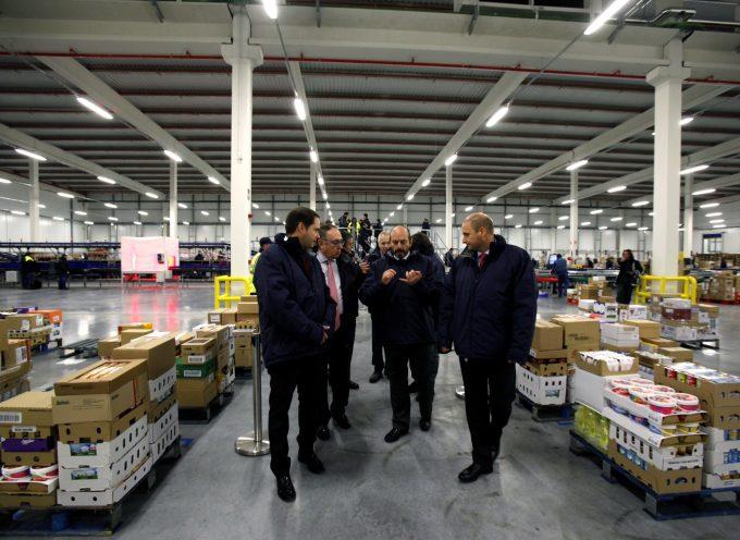 Carrefour abre una de las mayores plataformas de refrigerado y congelado.