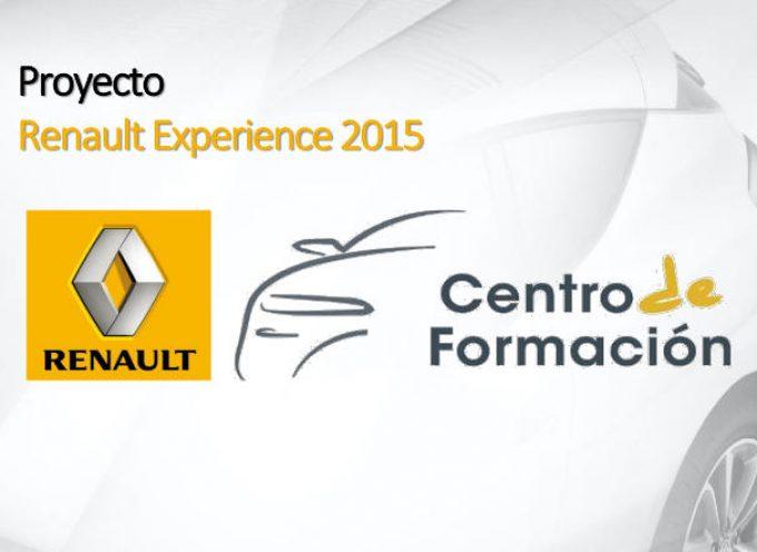 Programa Renault Experience para la formación e inserción laboral de titulados universitarios