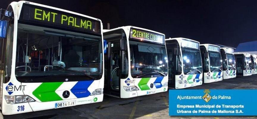 Bolsa de empleo para 100 conductores en la EMT Palma. Abierta inscripción hasta el 30/11/2015