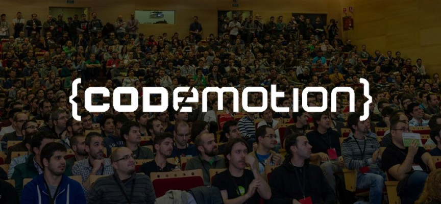 Codemotion (Madrid) – 120 charlas y 30 whorkshops. 27 y 28/11/2015