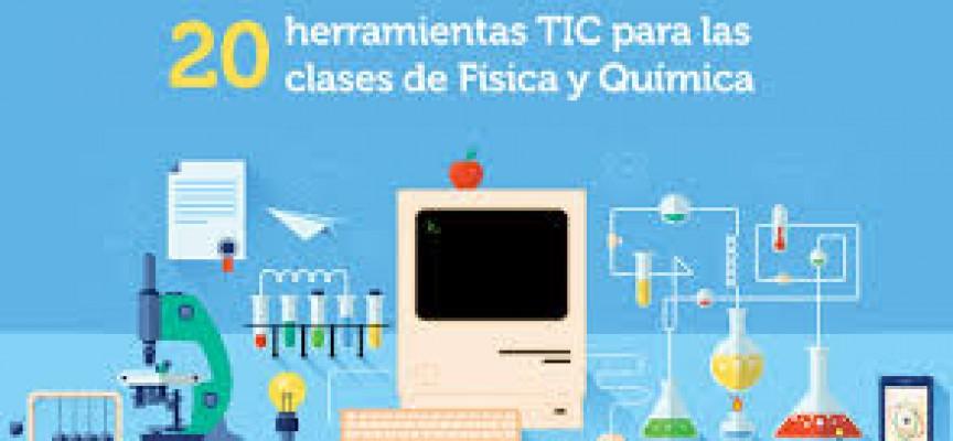 20 HERRAMIENTAS TIC PARA EL AULA DE FÍSICA Y QUÍMICA #INFOGRAFIA #INFOGRAPHIC #EDUCATION