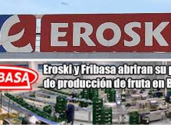 Fribasa y Eroski crearán empleo en la nueva planta de producción.