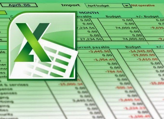 Tutoriales virtuales y gratuitos sobre Manejo de Excel, nivel básico, intermedio y avanzado