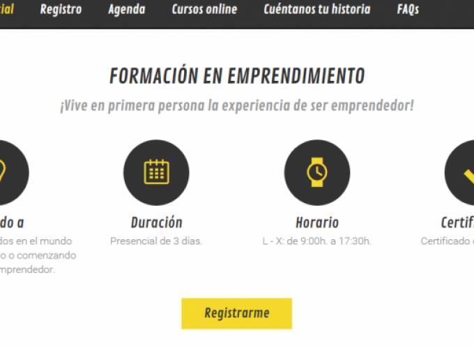 Plataforma virtual con cursos de formación para el empleo y recursos para el emprendimiento.