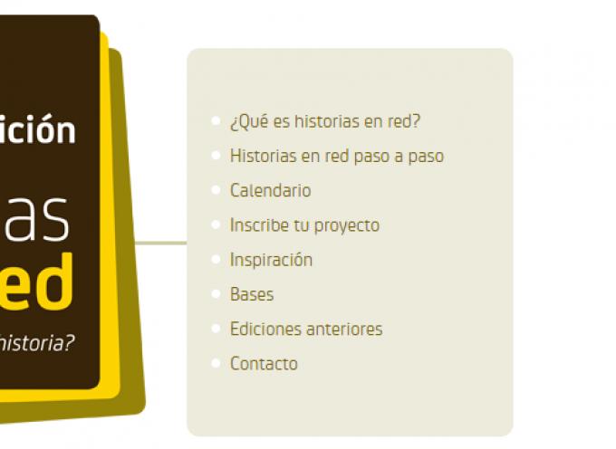"""Convocatoria emprendimiento social """"Historias en red"""". Hasta el 03/12/2015"""