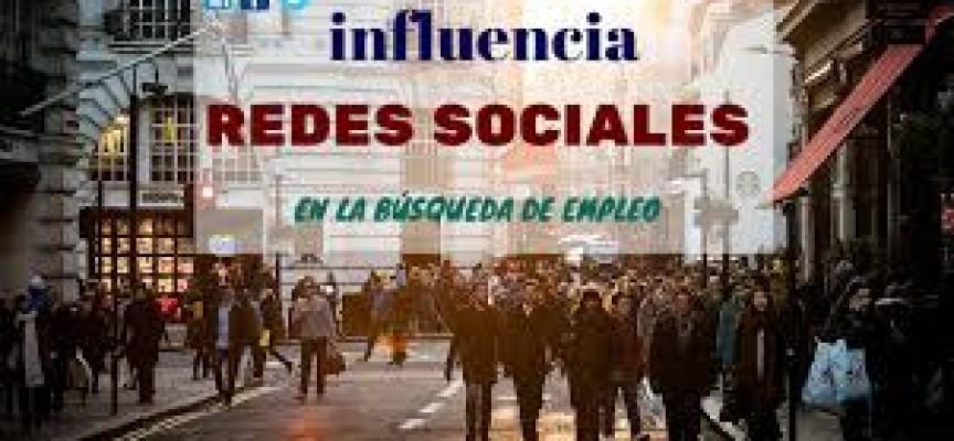 INFLUENCIA DE LAS REDES SOCIALES EN LA BÚSQUEDA DE EMPLEO #INFOGRAFIA #EMPLEO #SOCIALMEDIA