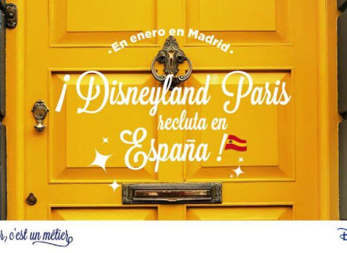 Sesión de reclutamiento EuroDisney en España: Enero 2016
