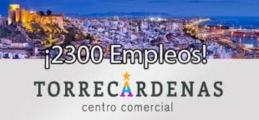 2.300 empleos en la construcción del nuevo C.C de Torrecárdenas.