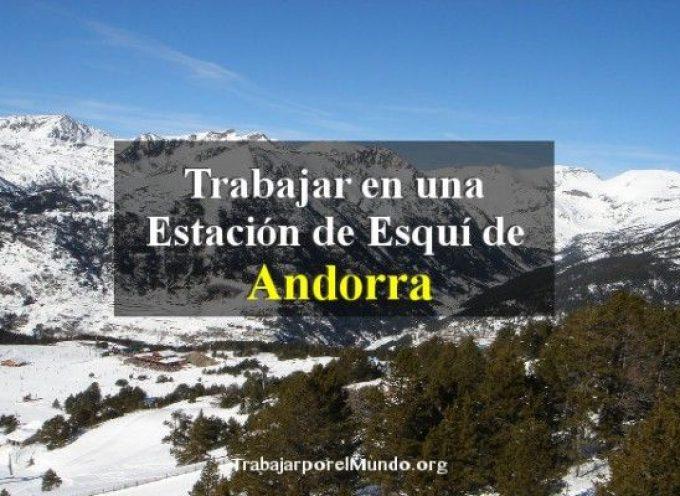 Cómo trabajar en una estación de esquí de Andorra