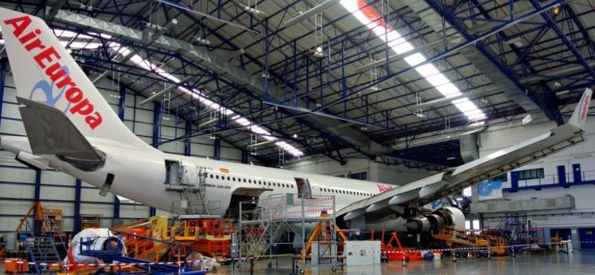 400 empleos en el nuevo hangar de mantenimiento de aeronaves de Globalia.