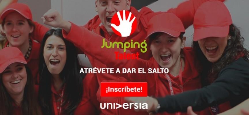 96 prácticas en el programa JUMPING TALENT 2016
