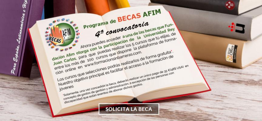 4ª convocatoria de becas Fundación Afim. Plazo tope: 31/12/2015