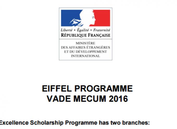 Becas para Doctorado en Francia. Plazo: 08enero2016