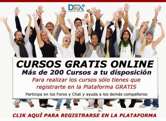Más de 250 Cursos gratis de Informática, Idiomas, Marketing…..Con certificado de participación.