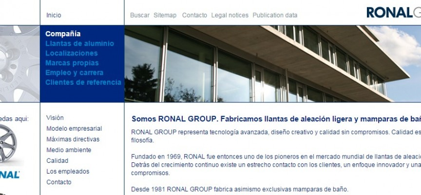 Ronal Ibérica generará 80 puestos de trabajo en Teruel